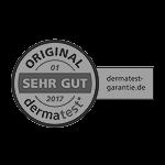 Dermatest-Siegel für das M. Reich BasenSalz
