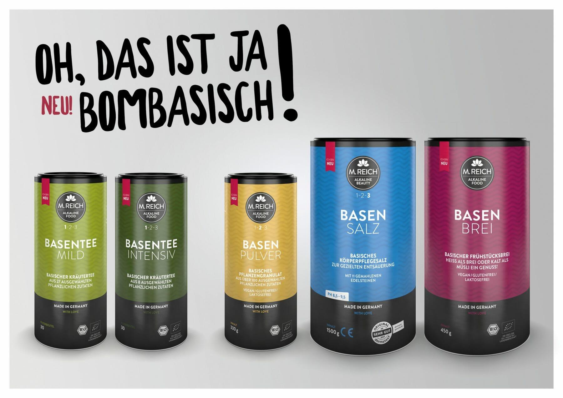 M. Reich: Exklusive Säure-Basen-Produkte mit innovativen Rezepturen