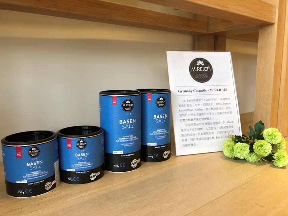 Taiwan badet basisch mit dem M. Reich BasenSalz